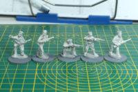 Tsuba Miniatures - Red Sailors