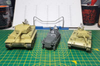 Rubicon Models Tanks & Perry Miniatures Tank Crews