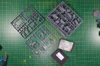 Perry Miniatures - Aggregated order sprues and bits