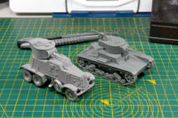 Rubicon Models - T-26 Warlord Games - BA-6 Armoured Car