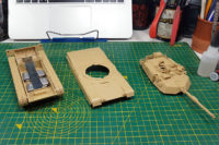 Tamiya Main Battle Tank M1A2 Abrams