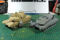 Tamiya MBT M1A2 Abrams - Empress Leopard 2A6