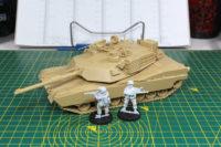 Tamiya MBT M1A2 Abrams - Black Scorpion Last Patrol