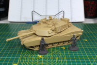 Tamiya MBT M1A2 Abrams - Mantic The Walking Dead