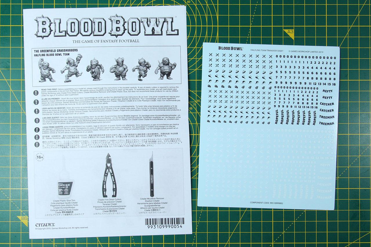 Blood Bowl 2017 **NEW** Wood Elf decal sheet