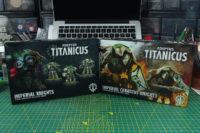 Adeptus Titanicus - Imperial and Cerastus Knights