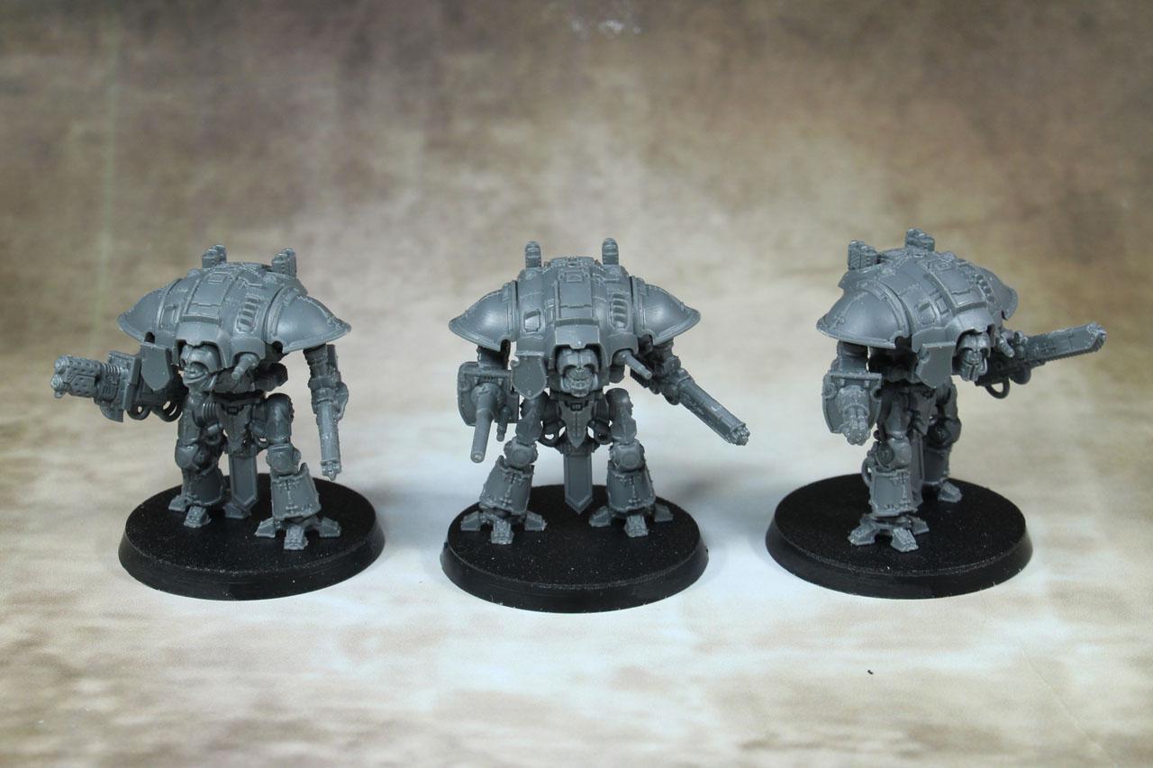 Warhammer 40K Adeptus Titanicus Imperial Knights