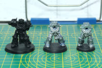 Warhammer 40.000 - Oldhammer Chaos Space Marine Terminators Bases