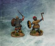 Stronghold Terrain - Victrix Vikings & Contrast Paint