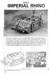 Warhammer 40.000 - Oldhammer Imperial Rhino RTB12