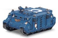 Warhammer 40.000 - Space Marine Rhino Mk IIc