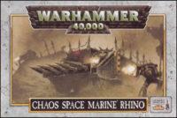 Warhammer 40.000 - Oldhammer Chaos Space Marine Rhino