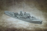 Crues Seas - Flower Class Corvette