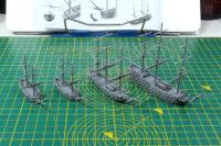 Black Seas - Frigates and Brigs Flotilla