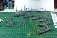 Black Seas - Assembled Ships