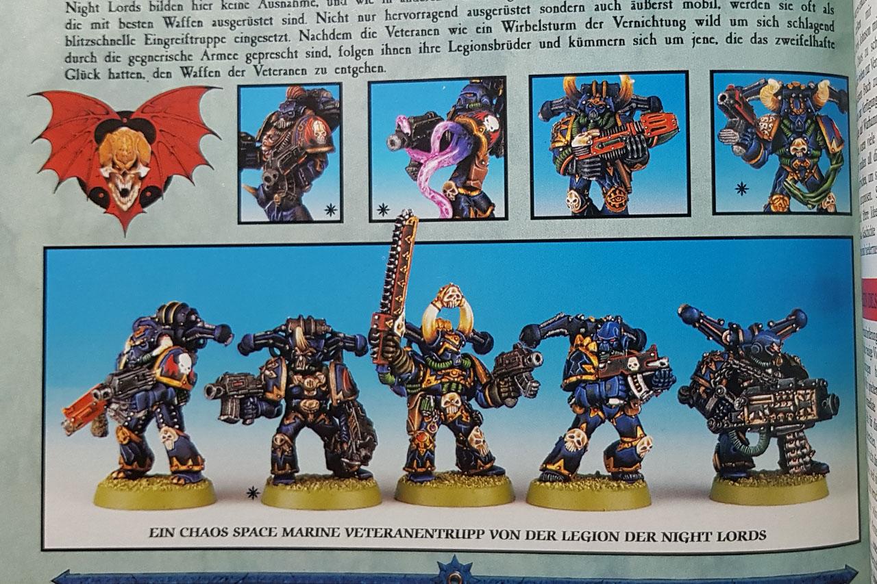 Games Workshop Warhammer 40k Chaos Space Marines Undivided Shoulder Pad Metal A