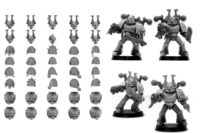 Forge World - Chaos Space Marines World Eaters Upgrade Set