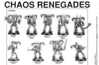 Warhammer 40.000 - Chaos Renegades of Khorne