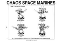 Warhammer 40.000 - Chaos Space Marines World Eaters of Khorne