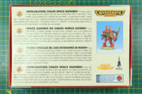 Warhammer 40.000 - Worldeaters Chaos Space Marines