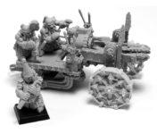 Warhammer Forge - Chaos Dwarf Deathshrieker