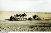 Sd.Kfz. 7 with 8,8 cm Flak