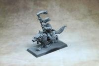 Warhammer The Old World - Goblin Shaman on a Wolf