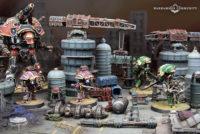 Adeptus Titanicus - Nemesis Warbringer & New Terrain