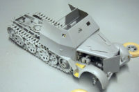 Sd.Kfz. 7 with armoured cab