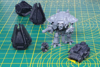 3D Printed - Space Marines Scale