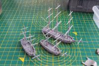 Black Seas - Brigs & Frigate