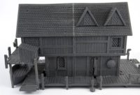 Lord of the Rings - The Hobbit Lake Town House
