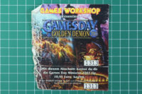 Games Workshop - Golden Demon Games Day 2003 Ticket