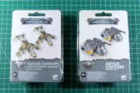 Aeronautica Imperialis - Arvus Lighter and Vulture Gunship