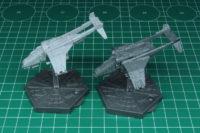 Aeronautica Imperialis - Arvus Lighter and Vulture Gunship