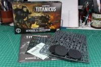 Adeptus Titanicus - Cerastus Knights Acheron and Castigator