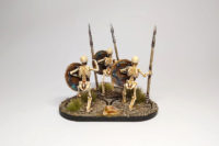 A miniature Odyssey – With Spear and Shield
