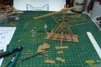 Zvezda - Medieval Siege Engine Trebuchet