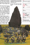 A Tale of Four Gamers - White Dwarf 221 Paul Sawyer Beastmen Herdstone