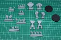 Adeptus Titanicus - Mechanicum Questoris Knights Magaera