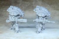 Adeptus Titanicus - Mechanicum Questoris Knights Styrix and Magaera