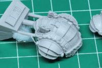 Adeptus Titanicus - Mechanicum Questoris Knights Styrix