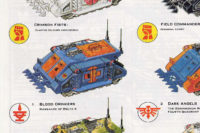 Warhammer 40,000 - Crimson Fists Rhino
