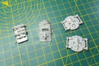 Warhammer 40,000 - Sisters of Battle Immolator Bits