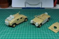 Tamiya - 1:48 US Modern 4x4 Utility Vehicle HUMVEE