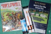 Warhammer Historical Shieldwall + Radaddel Brushes and Terrain