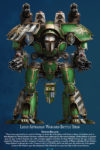 Adeptus Titanicus - Legio Astraman Warlord Titan