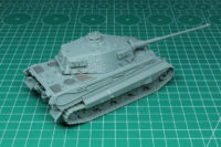Rubicon Models - Tiger II with Zimmerit