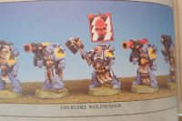 Warhammer 40.000 - Space Wolves Longfangs