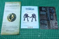 Adeptus Titanicus - Mechanicus Cerastus Knight Atrapos